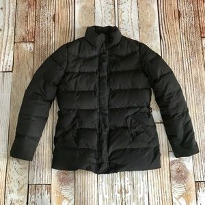 Ralph Lauren Black Puffer Coat XS